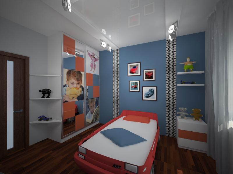 Ремонт в детской комнате в панельном доме