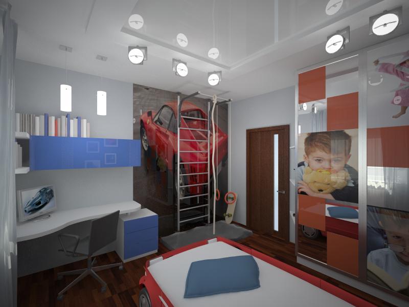 Дизайн 3 х комнатной квартиры в панельном